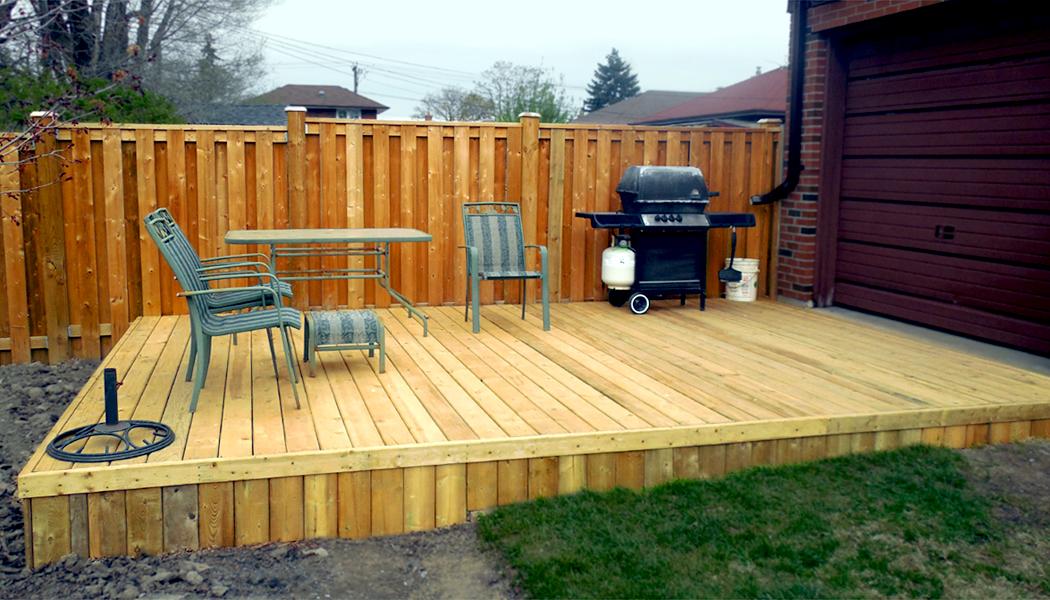 19 fresh platform deck building plans online 52826 for How to make a decking platform