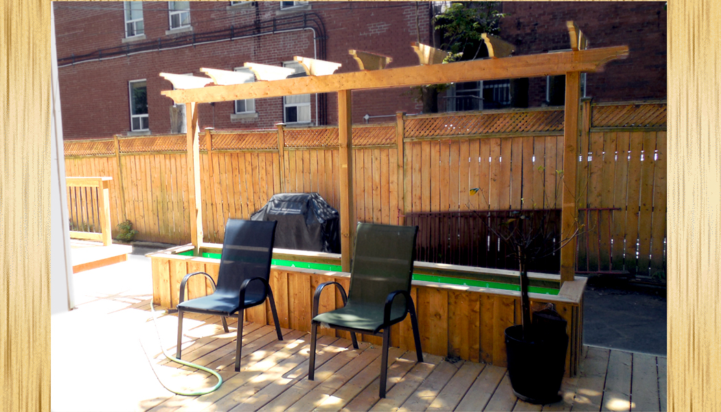 Walkway Deck Solution