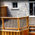 Cedar Railing & Composite Floor