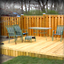 Pressure Treated Platform Deck
